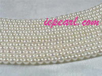 6.5-7mm white akoya pearl strands from AAA+ to A grades