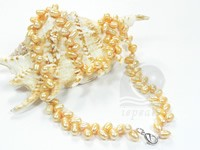 7.5-8.5mm potato pearl princess necklace wholesale