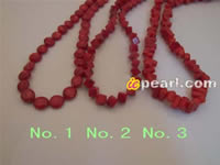 multi-shape red coral strands wholesale in low price online