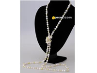 nugget cultured three colors mixed pearl necklace wholesale