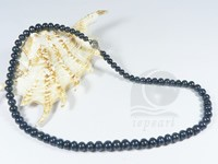 button shape cultured freshwater pearl necklace wholesale