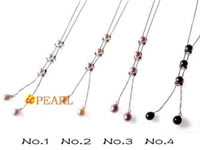 Delicate office necklace in sterling chain in wholesale price