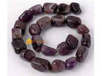 15*18mm natural shape amethyst strands bulk wholesale