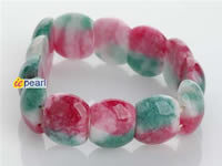 wholesale stretchy Candy jade bracelet jewelry in 7 inches