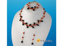 hand knotted flower coral choker jewelry wholesale online
