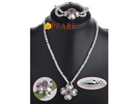 Bridal wedding necklace bracelet & ring set wholesale online