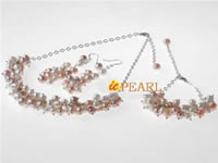 Wholesale hand wrapped freshwater pearl grape necklace online