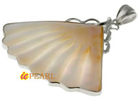 designer style shell wing pendant wholesale online