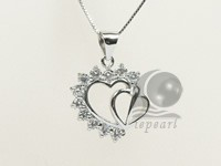 20*25mm sterling silver rhodium plated pendant wholesale