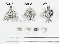 wholesale wish pearl pendant with lovely design